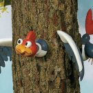 Woodpecker Tree Decor