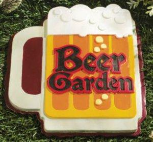 Beer Garden Stepping Stone