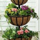 Three-Tiered Flower Basket