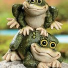 Leap Frogs Garden Yard Decor