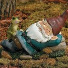 Sleeping Gnome Garden Yard Decor