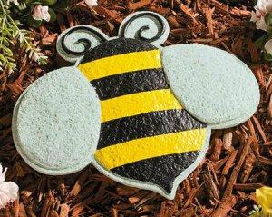 Bee Garden Stepping Stone