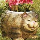 Chubby Cat Planter
