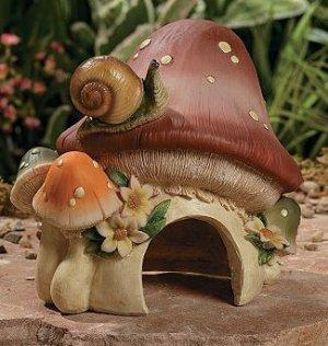 Frog House Garden Yard Decor