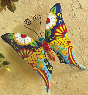 Colorful Butterfly Wall Decoration