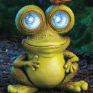 Solar Frog Garden Yard Decor