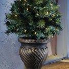 Antique Finish Decorative Resin Garden Planter Urn