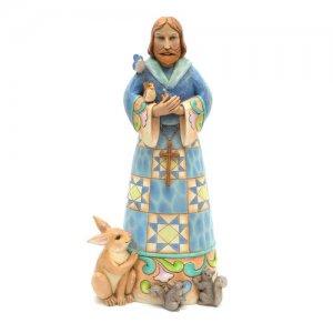 """Jim Shore 20"""" St. Francis Statue"""