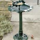 Standing Tiered Birdbath Feeder