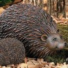 Hedgehog Family Garden Yard Decor