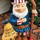 Americana Gnome Garden Yard Decor