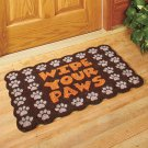 Wipe Your Paws Coir Doormat Mat