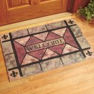 Oversized Stone Gate Welcome Mat