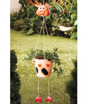 Hanging Pig Planter
