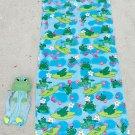 2-Pc. Beach Buddy Frog Towel Set
