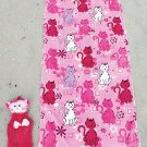 2-Pc. Beach Buddy Cat Towel Set