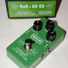 MXR M-66 Classic Overdrive Limited Edition Pedal MINT