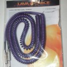 Lava Cables Retro Coil Cable PURPLE Guitar 20 foot