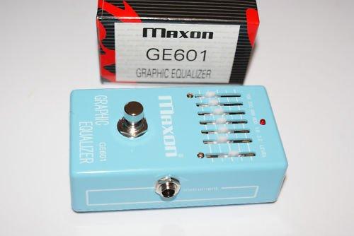 Maxon GE601 GE-601 6 Band Graphic Equalizer MINT Japan