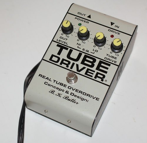 BK Butler Tube Driver Overdrive Distortion Effect Pedal
