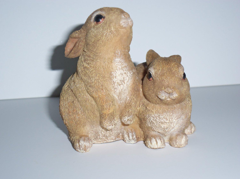 Bunny Couple Statues