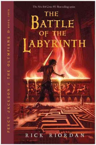 Battle of the Labyrinth (Signed) - Rick Riordan