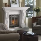 "54"" Symphony Series Jordana Stone Fireplace Mantel Mantle"