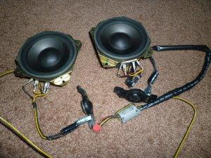 Samsung Speaker Set from DLP Television