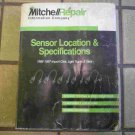 1986-1997 Mitchell Sensor Location & Specifications Manual