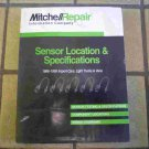 1998-1999 Mitchell Sensor Location & Specifications Manual