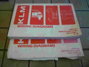 1983-1986 KLM Wiring Diagrams