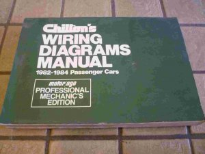 1982-1984 Chilton's Wiring Diagrams Manual