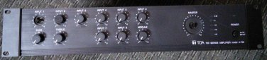 TOA A-706 8+1 Channel Audio Amplifier