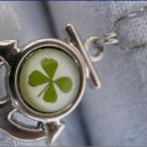 Handmade Four Leaf lucky clover nacklace worldwide free shipping