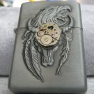 Handmade unique Steampunk Lighter with steampunk movement watch - WORLDWIDE FREE SHIPPING