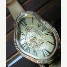 Brown Leather Wrist Watch, Women's Wrist Watch, Leather Wrap Watch, Natural Brown Leather Watch