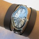 wrap Wrapped Gold Leather Watch Leather Accessories Wrist Watches Leather Watche Retro Watches