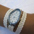 Dali Fluid Leather Wrap Watch-Wrist Watch-Leather Watches- Women's Watches-Leather Accessories