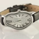 Salvador Dali Women wrist watch,SoftWatch,Soft Watch,Wave Wavy,Time Warp,Silver Wrap
