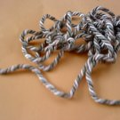 "1/4"" Beautiful handmade Cords  IS approximately 1/4"" diameter"