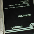 Used Conrail Trainmen Agreement Consolidated Rail Corp & United Transportation