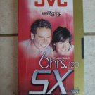 1 NEW JVC SX VHS Video Tape (6 HRS. 120 ), & 5 NEW SEALED MAXELL 60M AUDIO BLAN 6 pc set