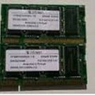 1 INFINEON 256MB PC2100 S-2033 DDR 266 CL2  LAPTOP RAM MEMORY