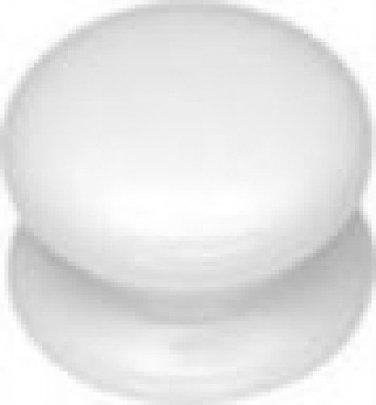 Belwith #P6107-W White Porcelain KNOB