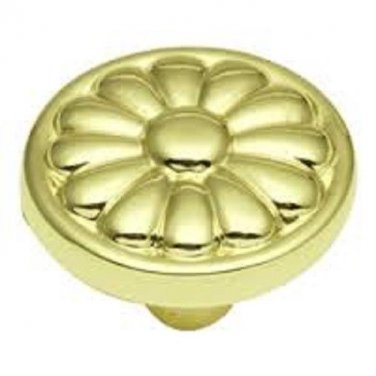 1 Belwith #P531-PB  1 1/4'' Polished Brass Knobs  PULL