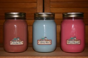 Soy Candles. Mason Jar Type. ONLY $4.99 Over 100 Scents!