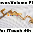 Power Button & Side Volume Button Flex Ribbon Cable for iPod Touch 4th Gen 4G 8GB 32GB 64GB
