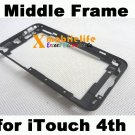 Middle Plastic Digitizer Screen Frame Bezel Housing for iPod Touch 4th Gen 8GB 32GB 64GB
