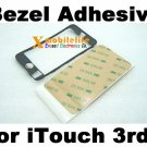 Plastic Middle Bezel Frame Housing + Adhesive Glue for iPod Touch 3rd Gen 32GB 64GB