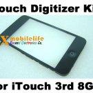 Touch Digitizer Glass Screen Plastic Bezel Frame Home Button Key Flex for iPod Touch 3rd Gen 8GB
